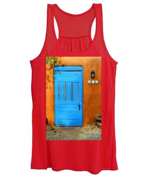 Blue Door In Santa Fe Women's Tank Top