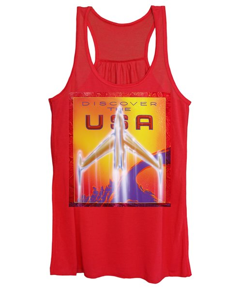 Discover The Usa Women's Tank Top