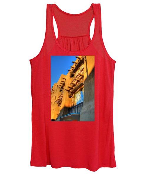 Downtown Santa Fe Women's Tank Top