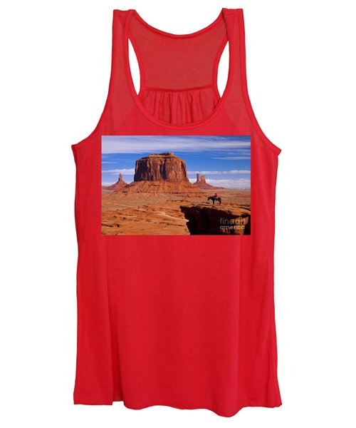 John Ford Point Monument Valley Women's Tank Top