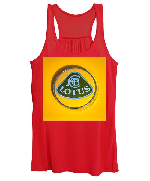 Lotus Emblem Women's Tank Top