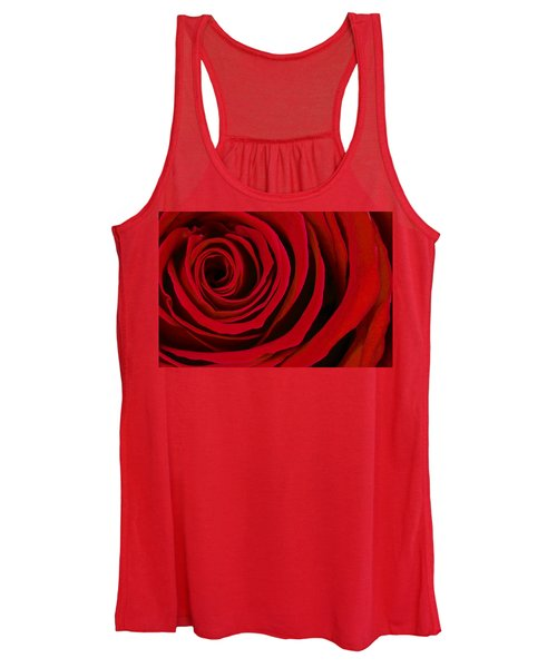 A Rose For Valentine's Day Women's Tank Top