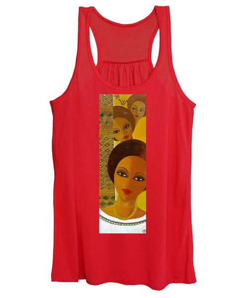 Afro Beauty Women's Tank Top