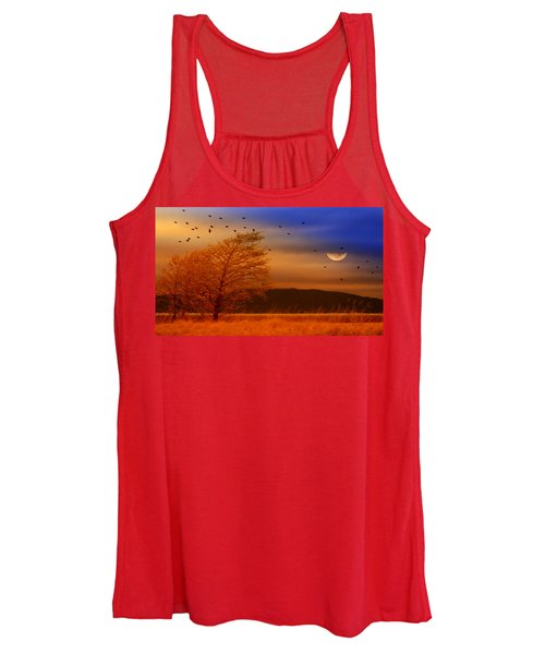 Against The Wind Women's Tank Top