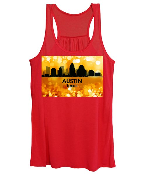 Austin Tx 3 Women's Tank Top