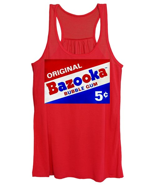 Bazooka Bubble Gum  Women's Tank Top