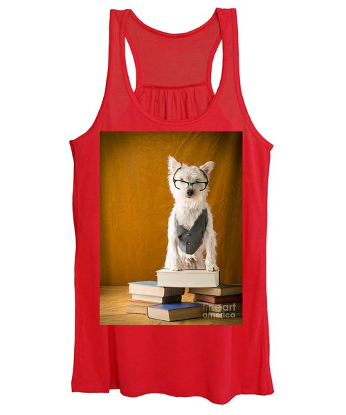 Bookish Dog Women's Tank Top