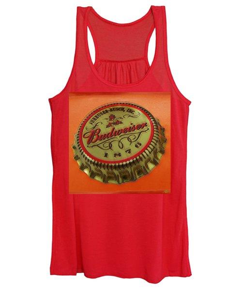 Budweiser Cap Women's Tank Top