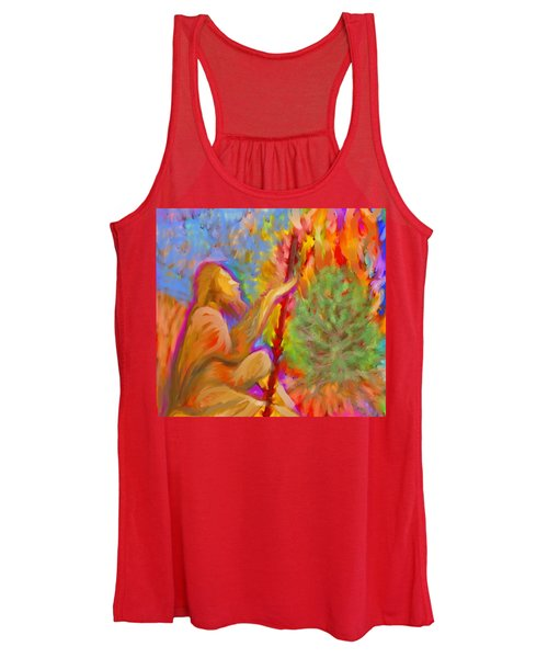 Burning Bush Of Yhwh Women's Tank Top
