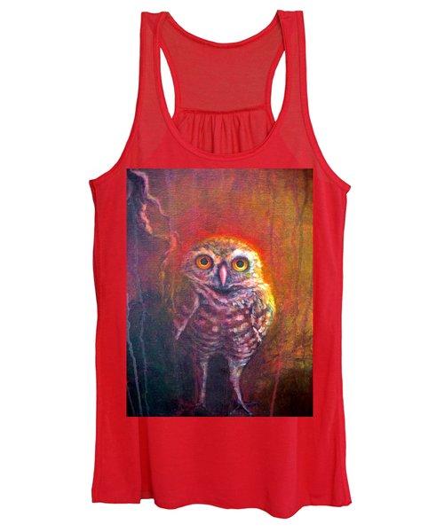Burrowing Owl Women's Tank Top