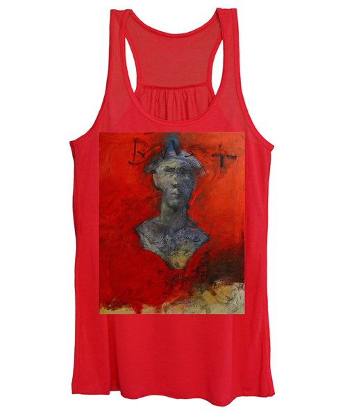 Bust Ted - With Sawdust And Tinsel  Women's Tank Top