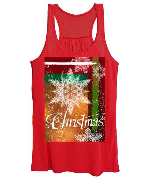 Christmas Greetings Women's Tank Top
