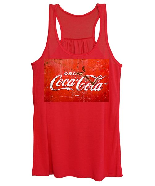Coca-cola Sign Women's Tank Top