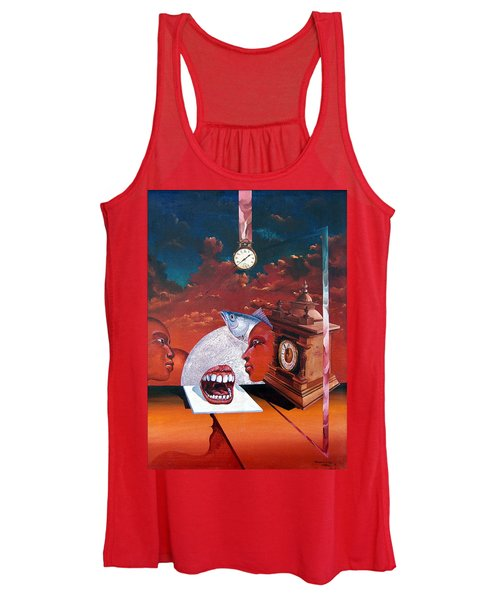 Consumption Of Time  Women's Tank Top