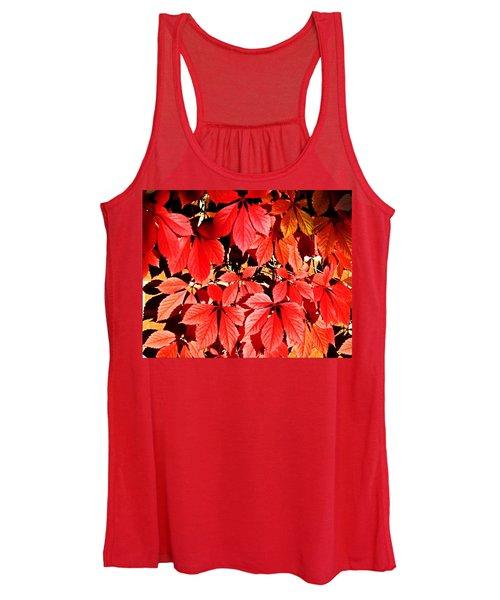 Crimson Virginia Creeper 2 Women's Tank Top