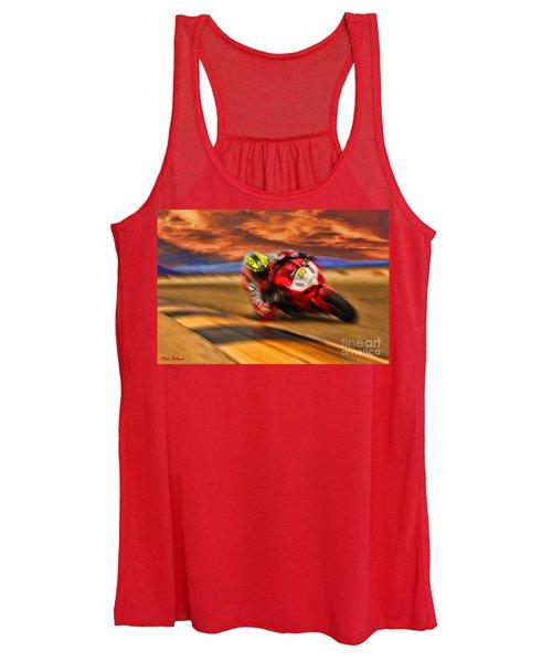 Domenic Caluori At Speed Women's Tank Top