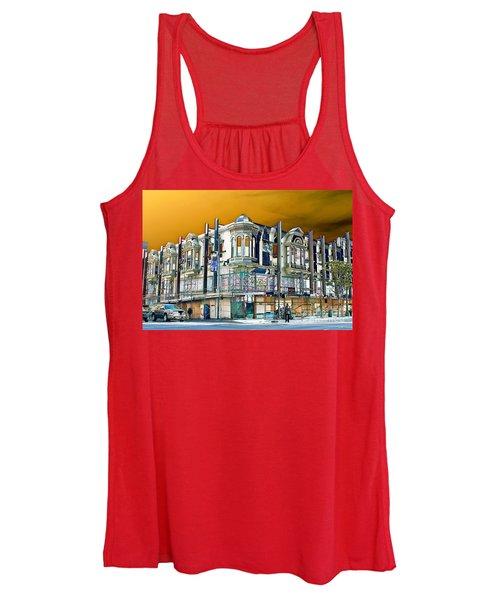 Downtown Los Angeles Corner Facade Women's Tank Top