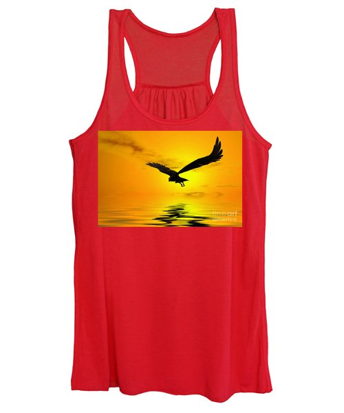 Eagle Sunset Women's Tank Top