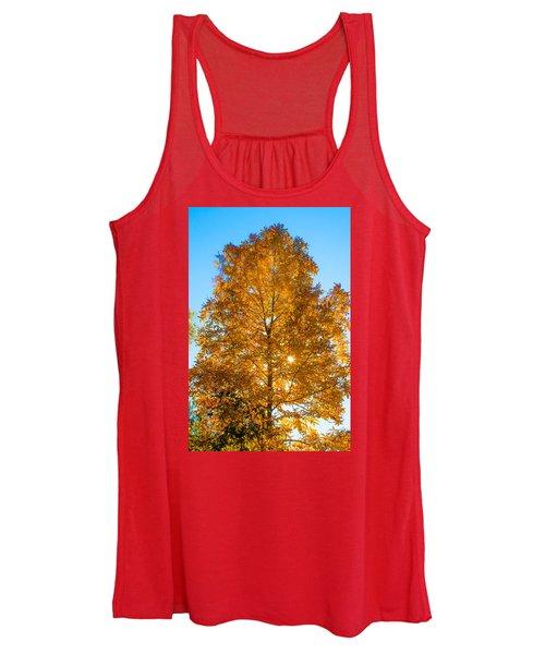 Fall Tree Women's Tank Top