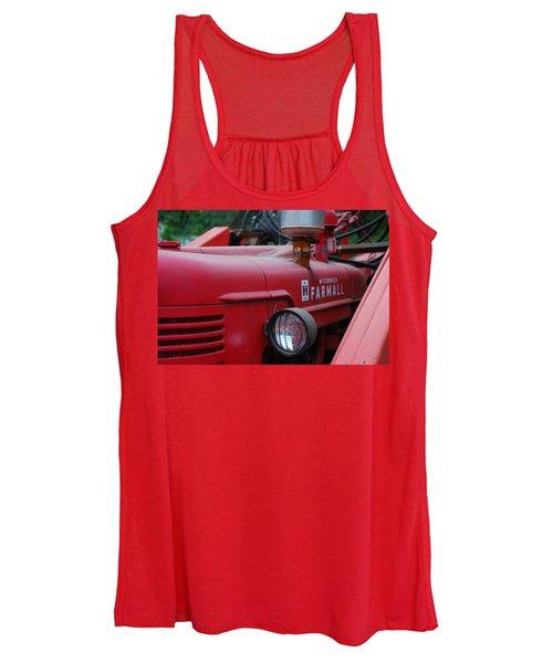 Farmall Tractor Women's Tank Top