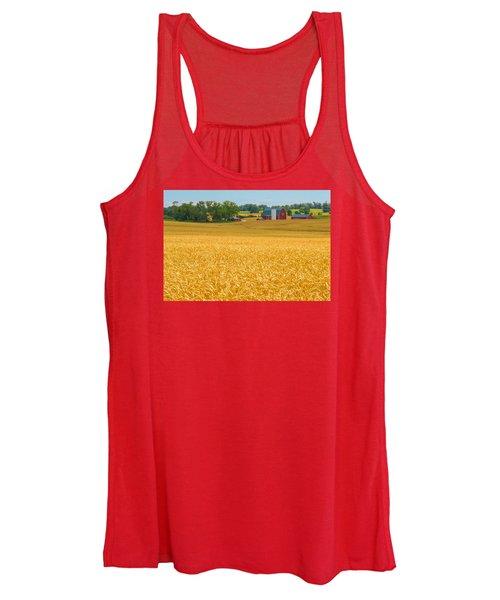 Fields Of Gold Women's Tank Top