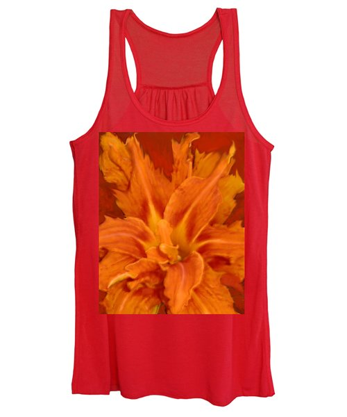 Fire Lily Women's Tank Top