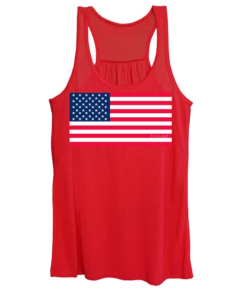 Flag Of The United States Of America Women's Tank Top