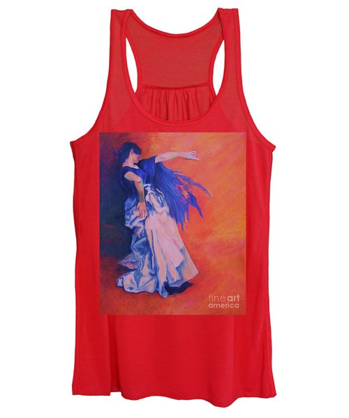 Flamenco-john Singer-sargent Women's Tank Top