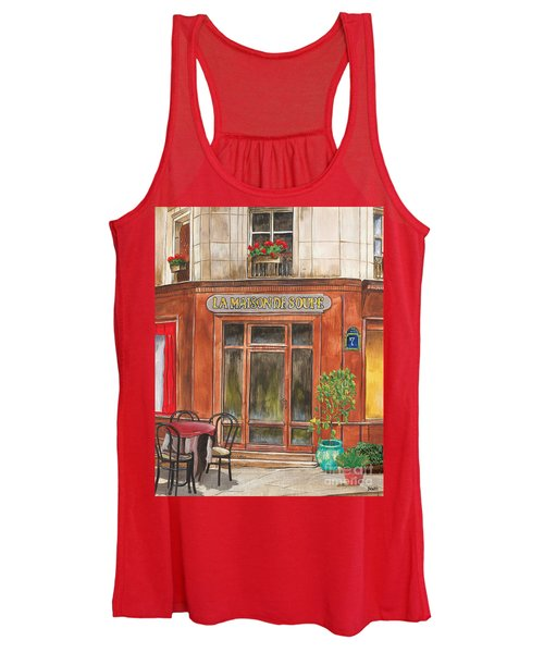 French Storefront 1 Women's Tank Top
