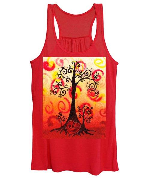 Fun Tree Of Life Impression Vi Women's Tank Top