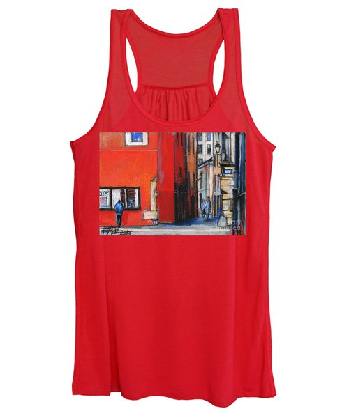 Gadagne Museum Facade In Lyon France Women's Tank Top