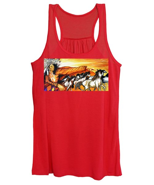 Gift Of The Pinto Women's Tank Top