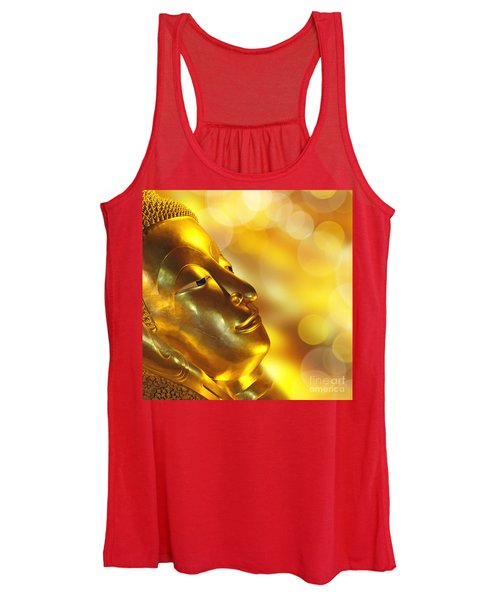 Golden Buddha Women's Tank Top