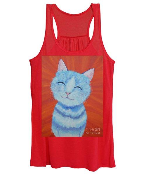 Happy Cat Women's Tank Top