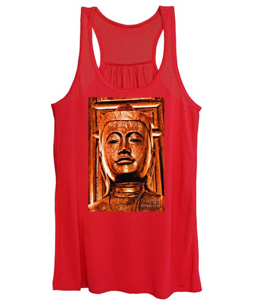 Head Of The Buddha Women's Tank Top