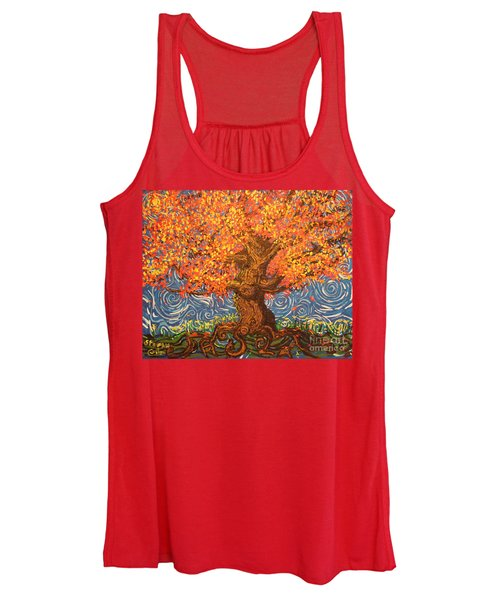 Healthy At Home Tree Women's Tank Top