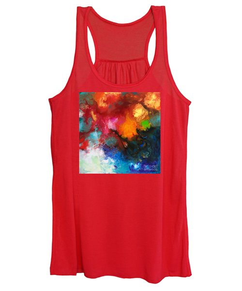 Holding The High Watch Canvas Three Women's Tank Top