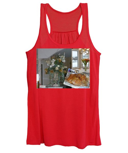 Holiday Collage Women's Tank Top