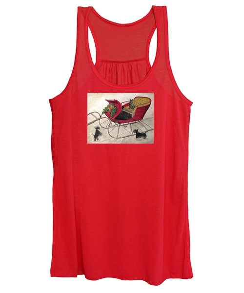 Hoping For A Sleigh Ride Women's Tank Top