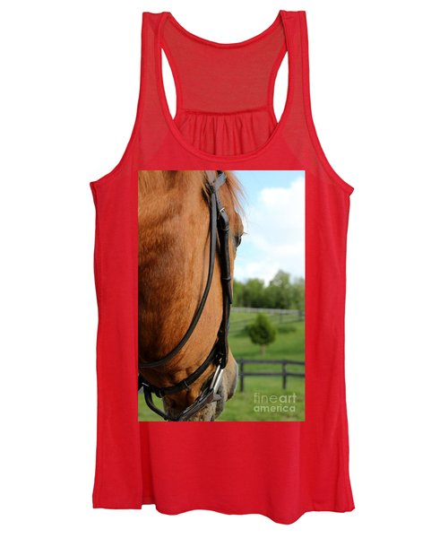 Horse View Women's Tank Top