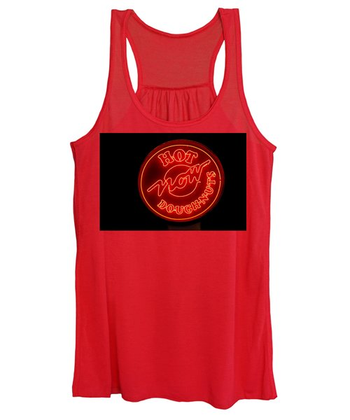 Hot Now Krispy Kreme Women's Tank Top