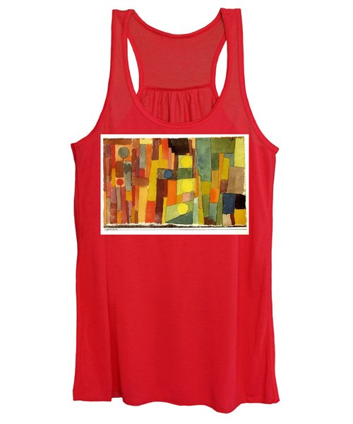 In The Style Of Kairouan Women's Tank Top