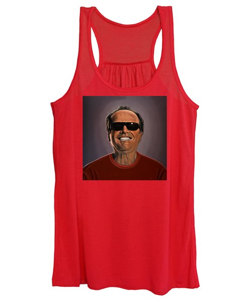 Jack Nicholson 2 Women's Tank Top