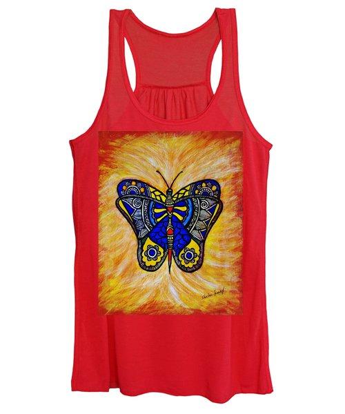 Joyous Butterfly Women's Tank Top