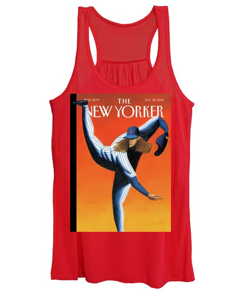 Late Innings Women's Tank Top
