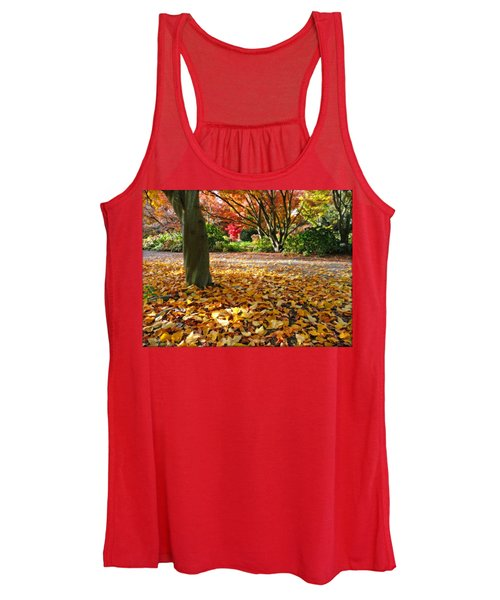 Leaves And More Leaves Women's Tank Top