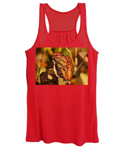 Leaving Autumn Women's Tank Top