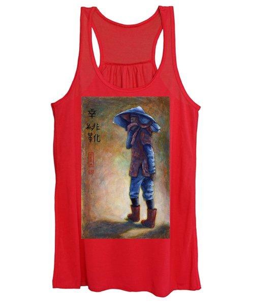Lucky Red Boots Women's Tank Top