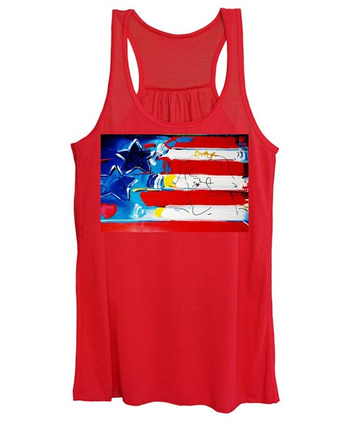 Max Stars And Stripes Women's Tank Top