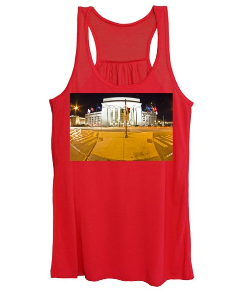 Midnight Train From Philly Women's Tank Top